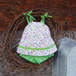 Baby dress and bloomers, si..