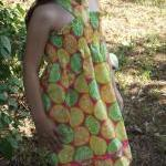 Girls halter sundress size ..